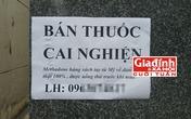 """Bóc trần sự thật về thuốc cai nghiện rởm giá """"trên trời"""" bán tại Sài Gòn"""