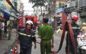 Cháy nhà, ba người may mắn thoát nạn