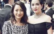 Lý Nhã Kỳ lấn át diễn viên Châu Tấn ở show thời trang Chanel