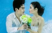 Người mẫu Trúc Diễm chụp ảnh cưới dưới nước