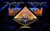 Sân khấu chung kết Next Top Model tái hiện hình ảnh Kim tự tháp