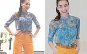 4 kiểu sơ mi mốt nhất hè của showbiz Việt