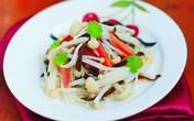 Salad nấm kim châm giòn ngon bổ dưỡng