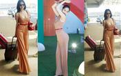 Hút mắt với thời trang sân bay của Ngọc Trinh
