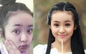"""Ngắm """"mặt thật - mặt giả"""" của mỹ nhân Việt"""
