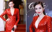 Mỹ nhân Việt nồng nàn sắc đỏ rực rỡ