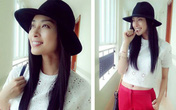 Xuống phố đơn giản và đẹp xinh như Ngô Thanh Vân