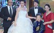 Cận cảnh váy cưới hàng hiệu của vợ Thanh Bùi