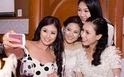 Dàn người đẹp khoe dáng trong đám cưới Vân Anh