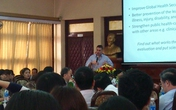 Tọa đàm định hướng nghề nghiệp cử nhân y tế công cộng chuyên ngành năm 2013