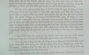 Công văn hỏa tốc cấm bà Tưng biểu diễn có nội dung gì?