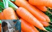 Cấp cứu vì thích ăn cà rốt