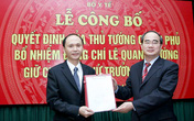 Bổ nhiệm GS. TS Lê Quang Cường làm Thứ trưởng Bộ Y tế