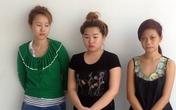 3 thiếu nữ chụp thuốc mê cướp shop thời trang