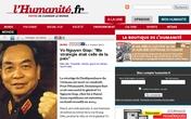Truyền thông Pháp ca ngợi Đại tướng Võ Nguyên Giáp