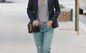 Học cách mặc quần jean nữ đẹp như sao Hollywood