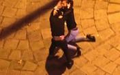 Sốc với cặp đôi nam nữ đánh nhau túi bụi trên phố