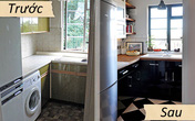 Biến bếp cũ thành bếp xinh, bếp gọn
