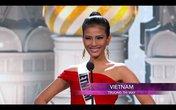 Trương Thị May vô cùng gợi cảm trong đêm bán kết Miss Universe