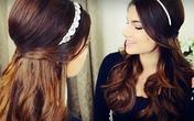 3 kiểu tóc cho quý cô thích phụ kiện