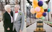 Bộ ảnh kỷ niệm 61 năm tình yêu của cặp vợ chồng ngoại bát tuần