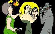Bắt hụt chồng ngoại tình