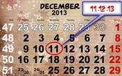 11-12-13, ngày của trăm năm trong thế kỷ 21