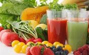 Sinh tố rau quả bài độc cực tốt