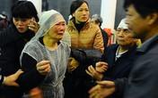 Vợ con Văn Hiệp vật vã trước nỗi đau mất người thân