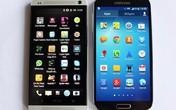 HTC One đọ dáng với Samsung Galaxy S4