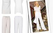 Phối đồ nổi bật cùng 4 kiểu quần trắng phổ biến cho nàng công sở