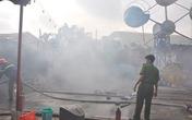 Cháy lớn ở khu vui chơi thiếu nhi Mỹ Đình