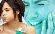 Lạm dụng nước súc miệng gây hư răng