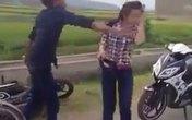 Nữ sinh bị thanh niên tát tới tấp giữa đường