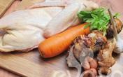 Thích mê canh vịt nấu khoai sọ