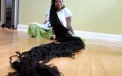 Người phụ nữ phải mất 2 ngày để gội đầu và lau khô tóc