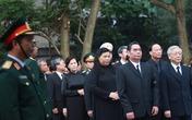 Lãnh đạo Đảng, Nhà nước thành kính viếng Đại tướng Võ Nguyên Giáp