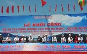 Đường cao tốc Đà Nẵng – Quảng Ngãi chính thức khởi công