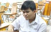 Cảm phục chàng trai mù không muốn xin đặc cách mà tự thi đại học