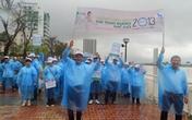 Hàng trăm người đi bộ hưởng ứng ngày phòng chống bệnh đái tháo đường
