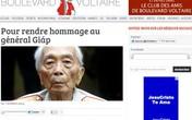 Báo Pháp - Báo Mỹ không ngừng ca ngợi Tướng Giáp