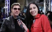 Mai Phương Thúy gặp Tom Cruise trên thảm đỏ Đài Loan