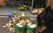 Kinh hãi dừa được tẩy trắng bằng chất độc hại