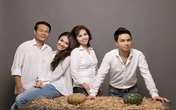 Hồng Quế khoe ảnh gia đình đẹp lung linh