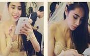 Thủy Tiên diện áo cưới nhắc khéo Công Vinh