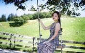 Đan Lê xinh long lanh tại Hàn Quốc