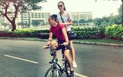 Phạm Anh Khoa chạy bộ cùng Hà Tăng