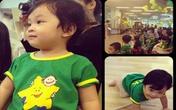 'Đột nhập' lớp mẫu giáo con sao Việt
