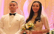 Cận cảnh đám cưới cổ tích của Á hậu Thùy Trang