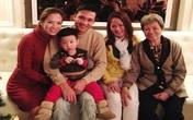 Đan Lê khoe ảnh gia đình hạnh phúc
